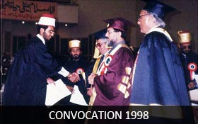 Convocation 1998
